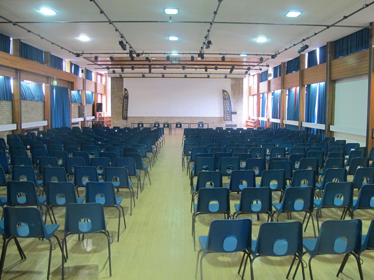 Main Hall At The Park Community School For Hire In