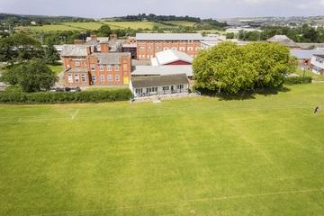 Cricket Pitch with Pavillion - The Park Community School - Devon - 1 - SchoolHire