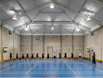 Sports Hall - Birkenhead High School Academy - Wirral - 1 - SchoolHire