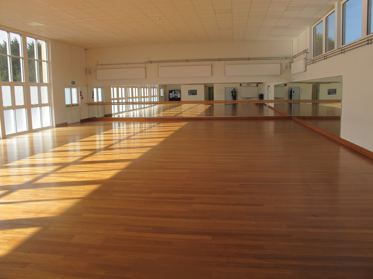 Dance Studio - Carter Community School - Poole - 1 - SchoolHire