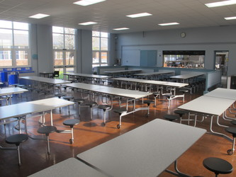 Dining Hall - Carter Community School - Poole - 1 - SchoolHire