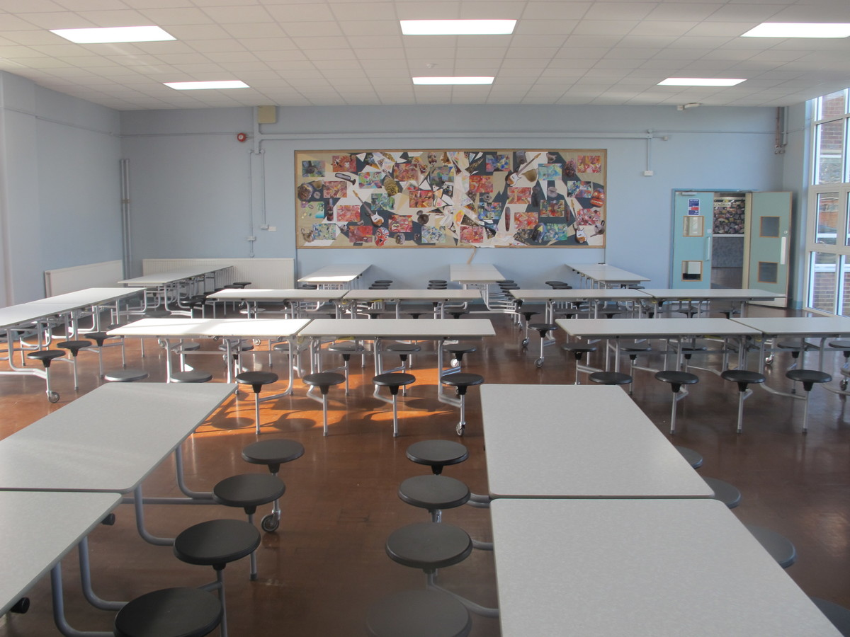 Dining Hall - Carter Community School - Poole - 2 - SchoolHire