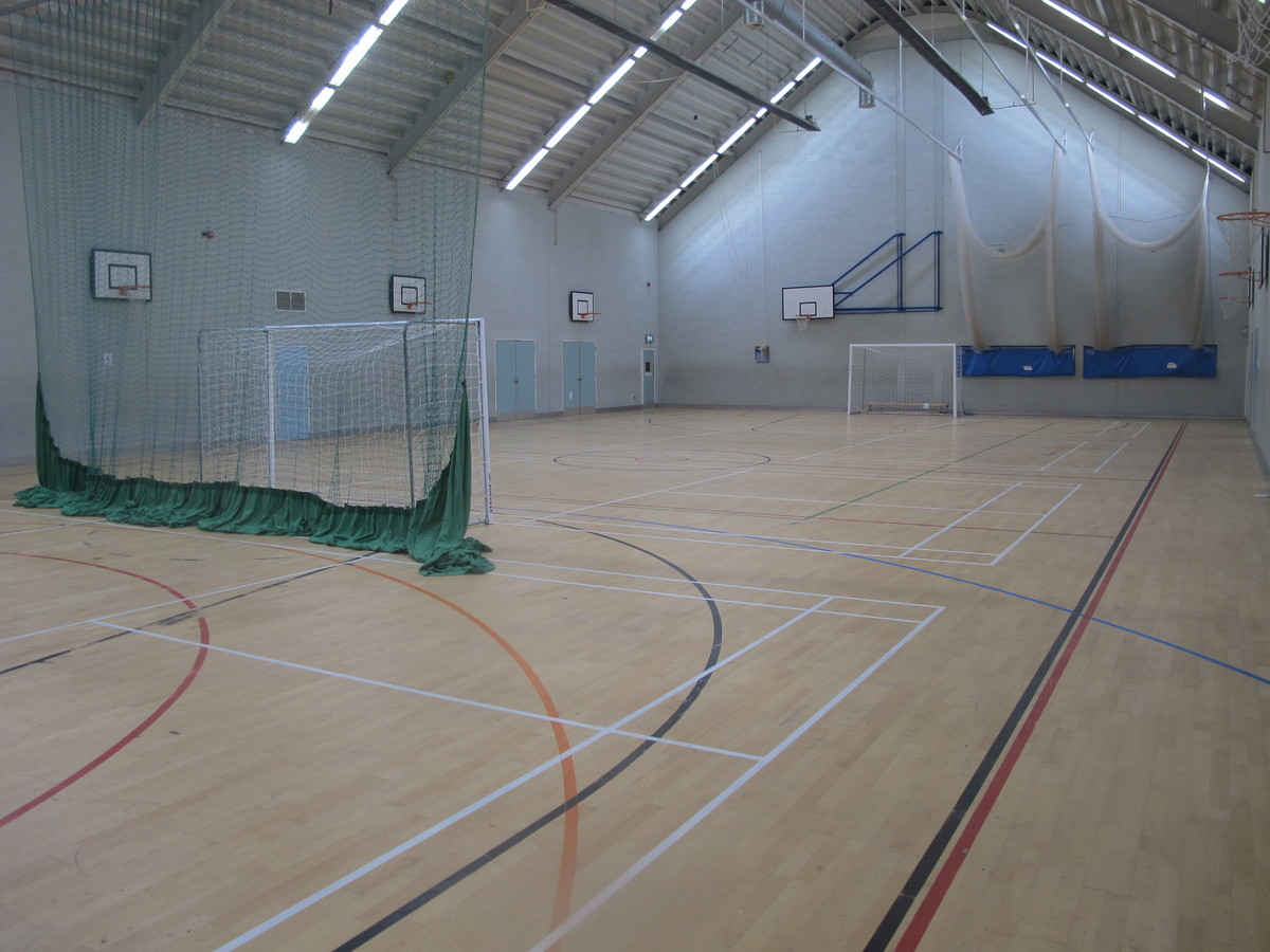 Sports Hall - Carter Community School - Poole - 2 - SchoolHire