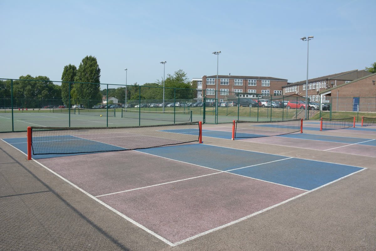 Tennis Court - Davenant Foundation School - Essex - 4 - SchoolHire