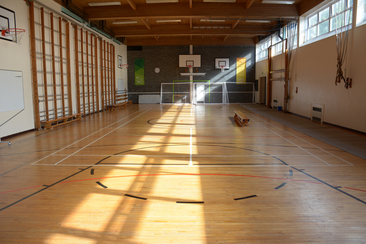 Gymnasium At Davenant Foundation School For Hire In