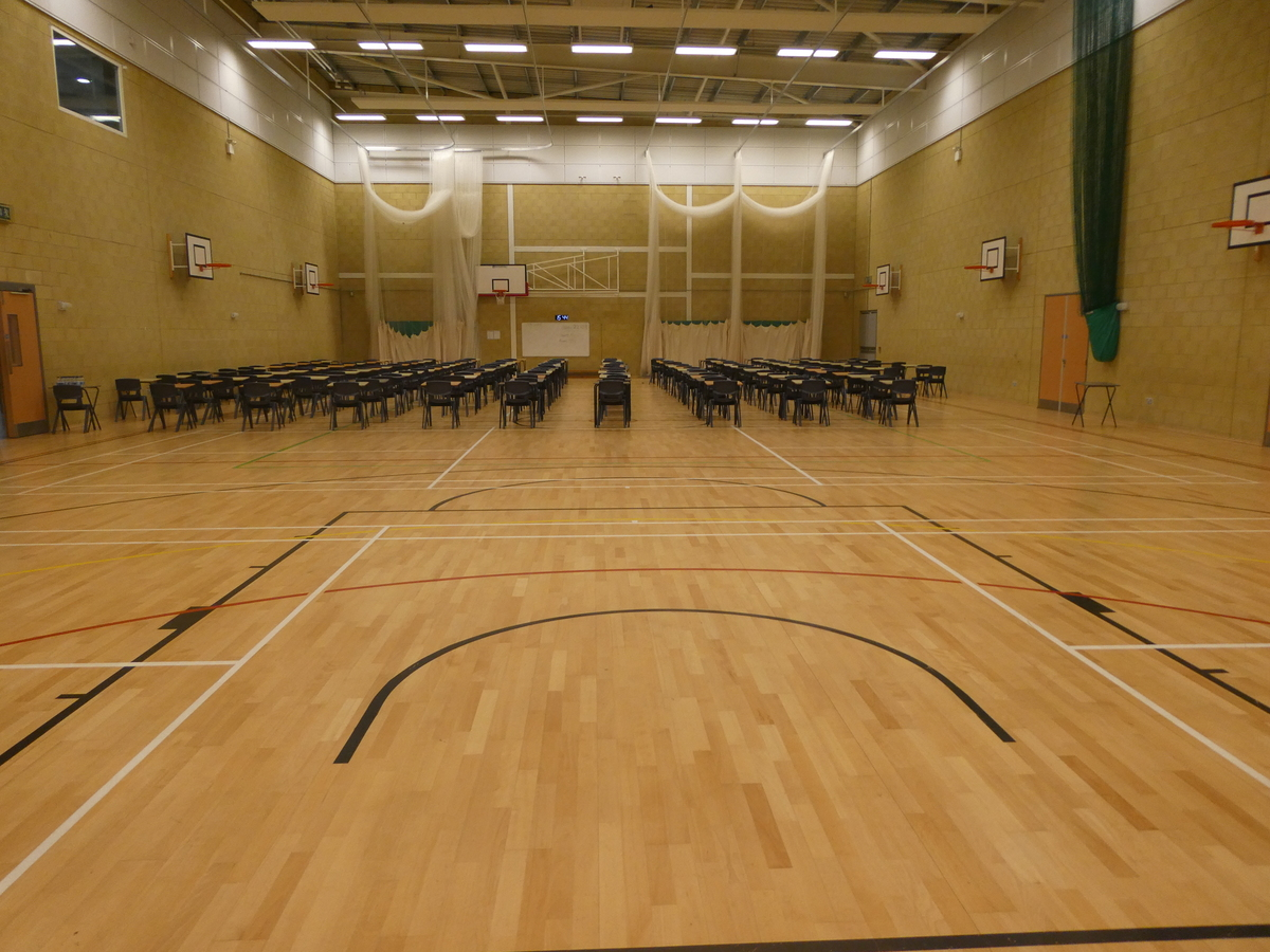 Sports Hall (main hall) - Cromwell Community College - Cambridgeshire - 4 - SchoolHire
