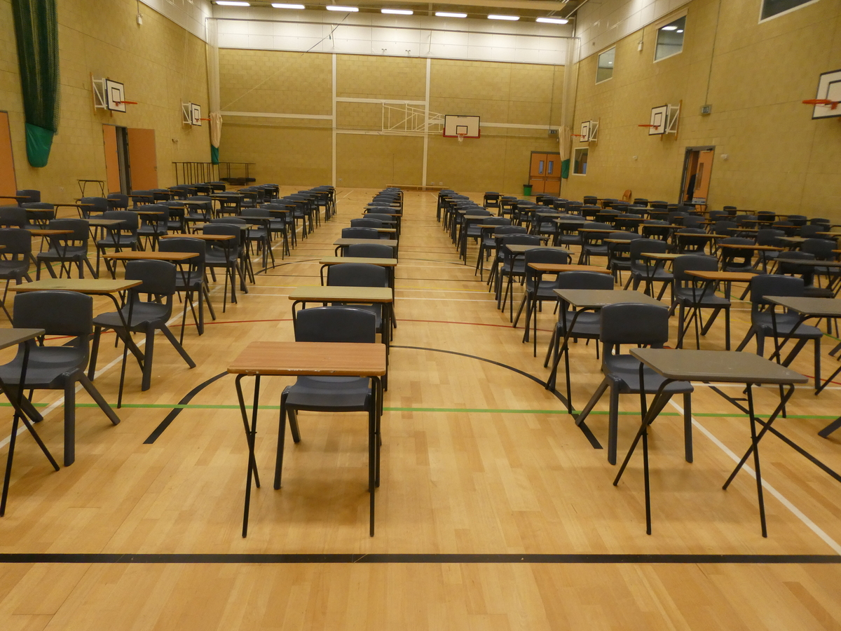 Sports Hall (main hall) - Cromwell Community College - Cambridgeshire - 3 - SchoolHire