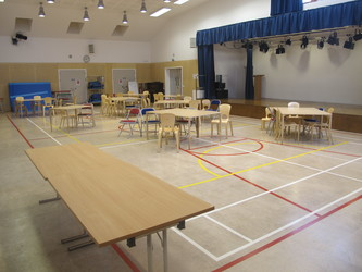 Main Hall - Krishna Avanti (Harrow) Primary School - Harrow - 1 - SchoolHire