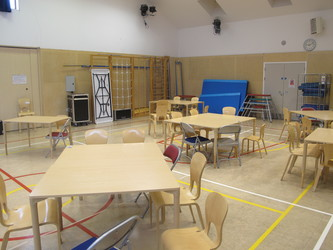 Main Hall - Krishna Avanti (Harrow) Primary School - Harrow - 2 - SchoolHire