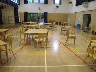 Main Hall - Krishna Avanti (Harrow) Primary School - Harrow - 3 - SchoolHire