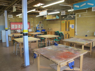 Woodwork Room - Toynbee School - Hampshire - 2 - SchoolHire