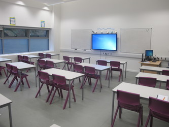 Classrooms - New Style - G Corridor - Wallington High School for Girls - Sutton - 1 - SchoolHire