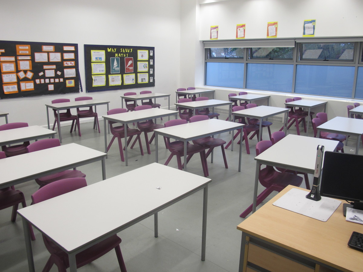 Classrooms - New Style - G Corridor - Wallington High School for Girls - Sutton - 2 - SchoolHire