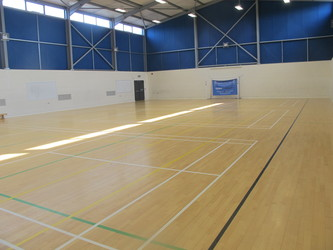 Sports Hall - Fitness Centre - Notley High School & Braintree Sixth Form - Essex - 1 - SchoolHire