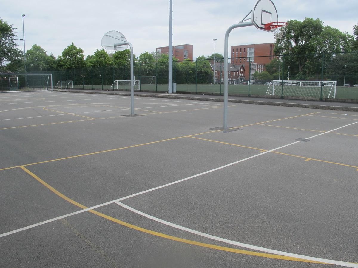 Outdoor Court - Manchester Academy - Manchester - 2 - SchoolHire