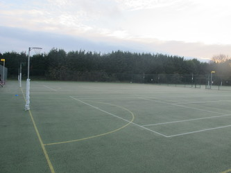 Outdoor Netball / Tennis Courts 1 - Wallington High School for Girls - Sutton - 2 - SchoolHire