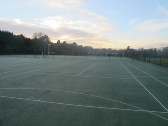 Outdoor Netball / Tennis Courts 1 - Wallington High School for Girls - Sutton - 3 - SchoolHire