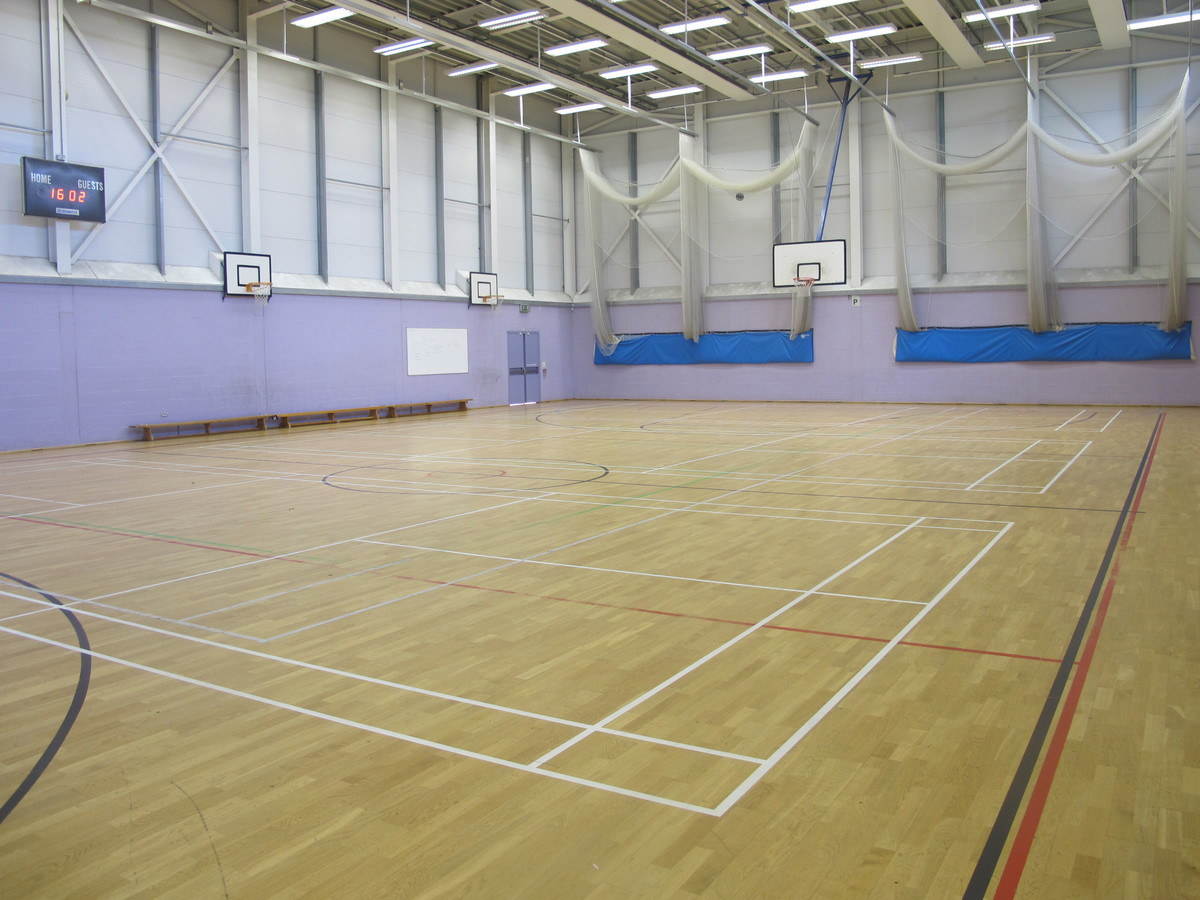 Sports Hall - Preston Manor School - Brent - 1 - SchoolHire