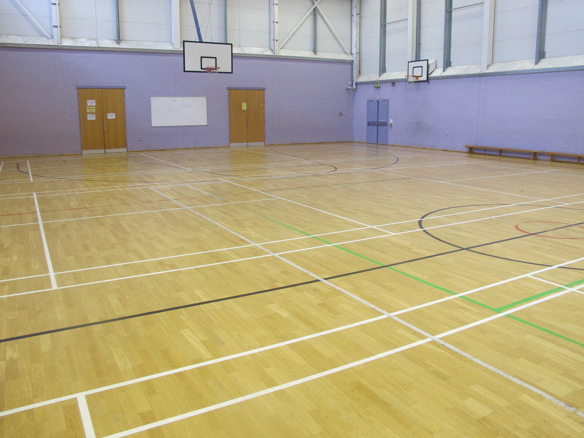 Sports Hall - Preston Manor School - Brent - 2 - SchoolHire