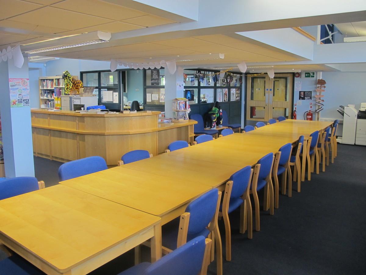 Library - Paignton Community and Sports Academy - Devon - 1 - SchoolHire