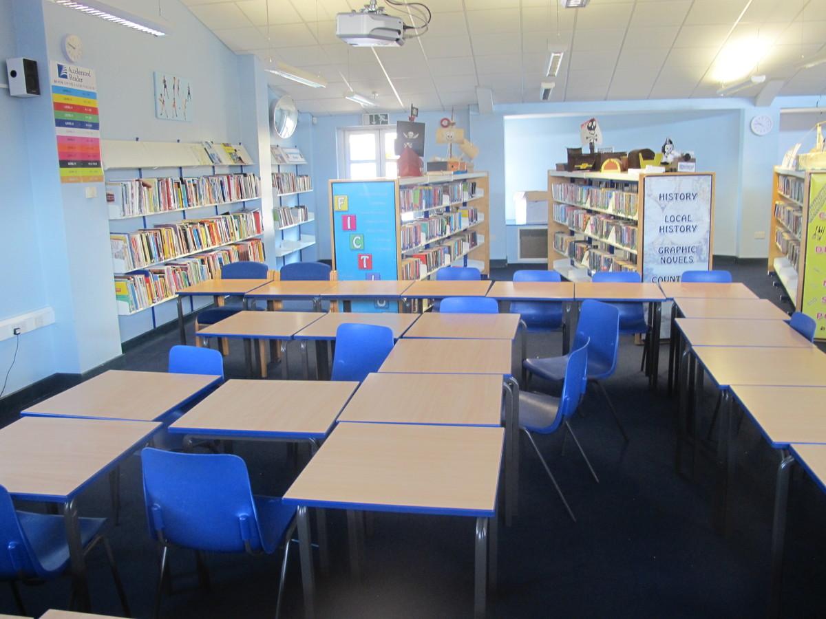 Library - Paignton Community and Sports Academy - Devon - 4 - SchoolHire