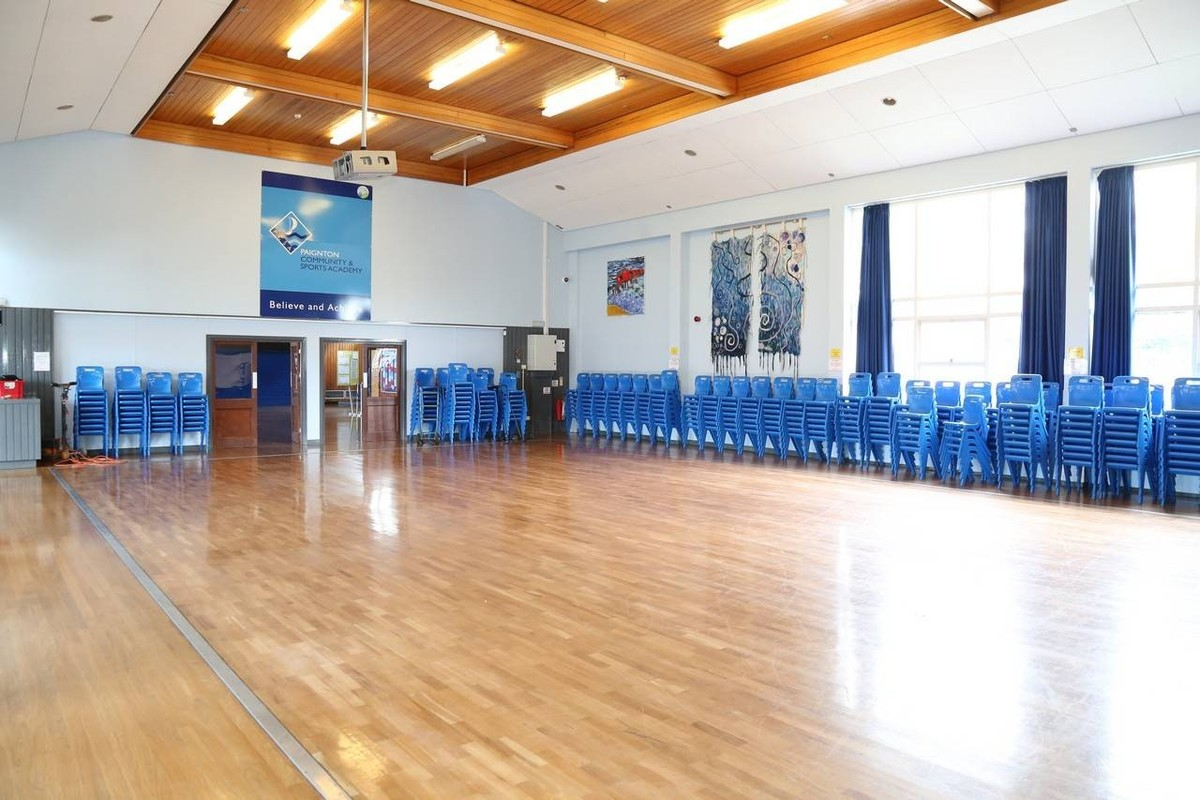 Main Hall - Paignton Community and Sports Academy - Devon - 1 - SchoolHire