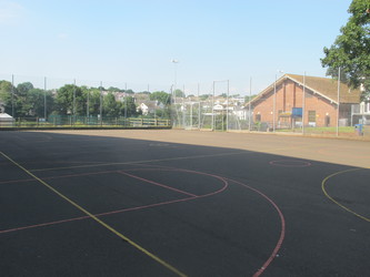 MUGA - Netball Court - Paignton Community and Sports Academy - Devon - 2 - SchoolHire