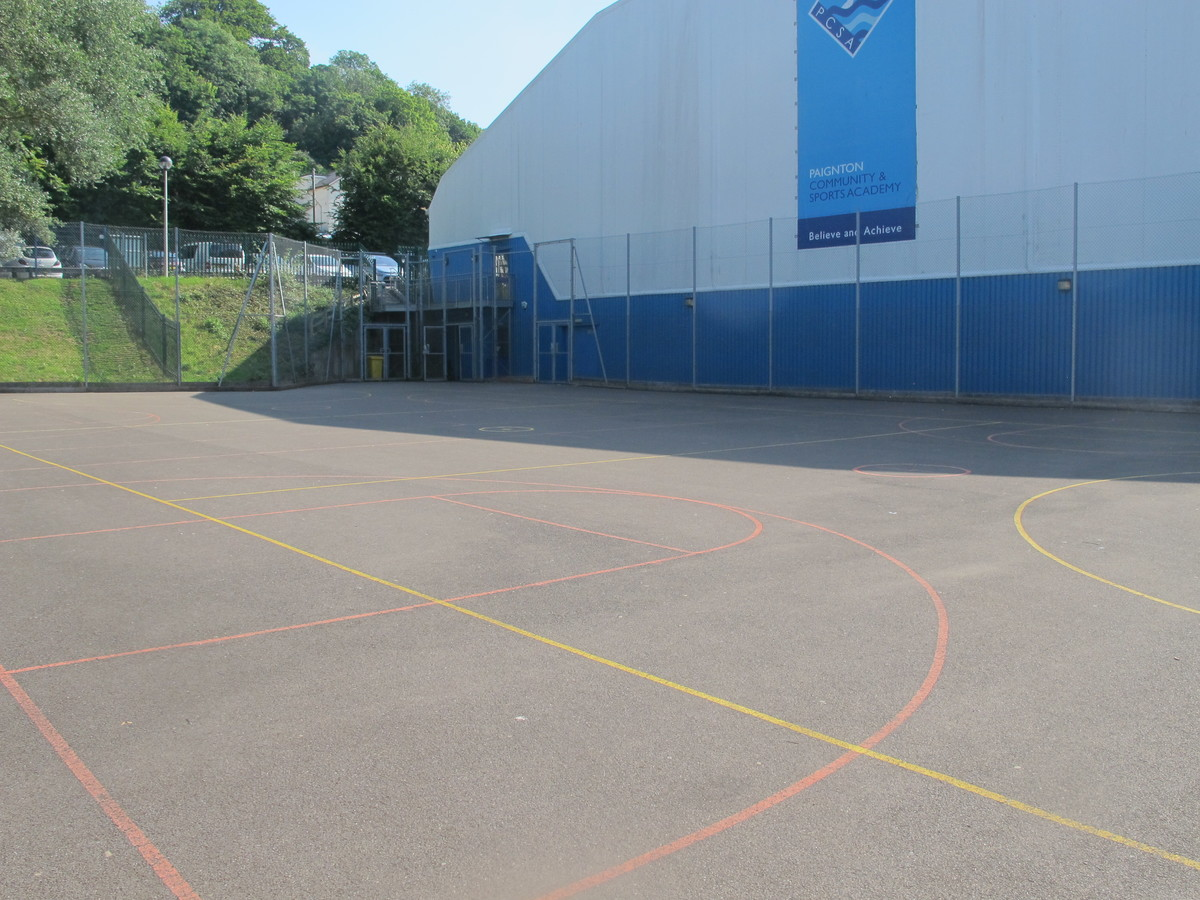 MUGA - Netball Court - Paignton Community and Sports Academy - Devon - 3 - SchoolHire