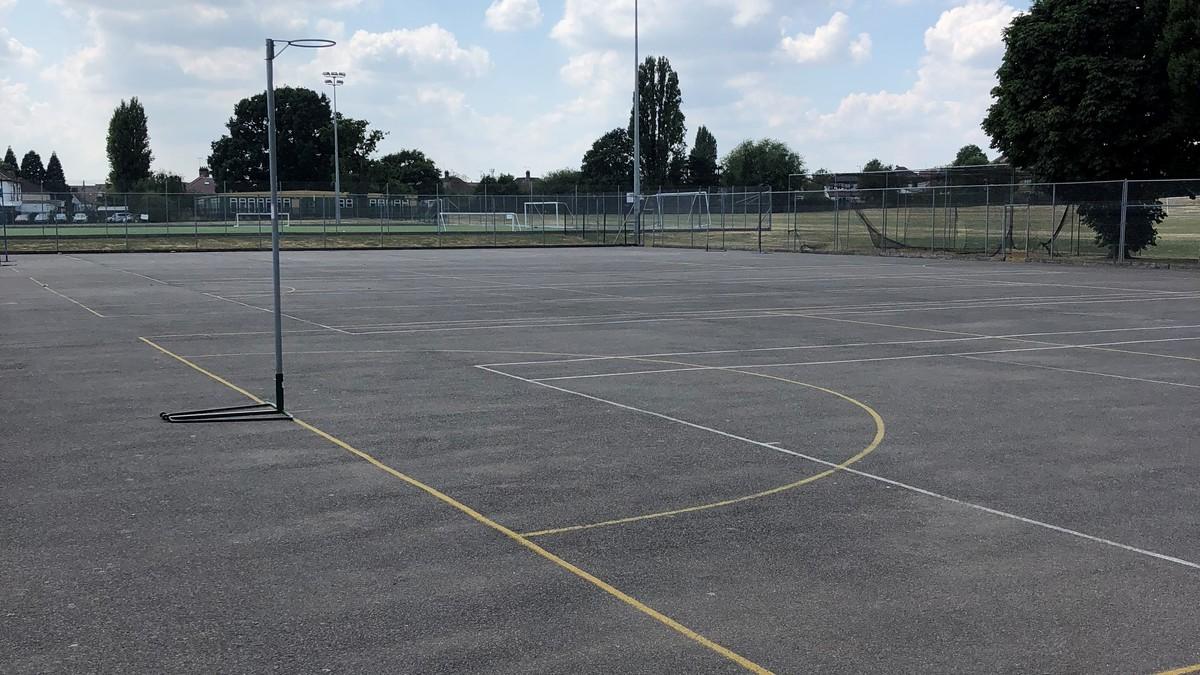 Outdoor Netball Court - Preston Manor School - Brent - 1 - SchoolHire