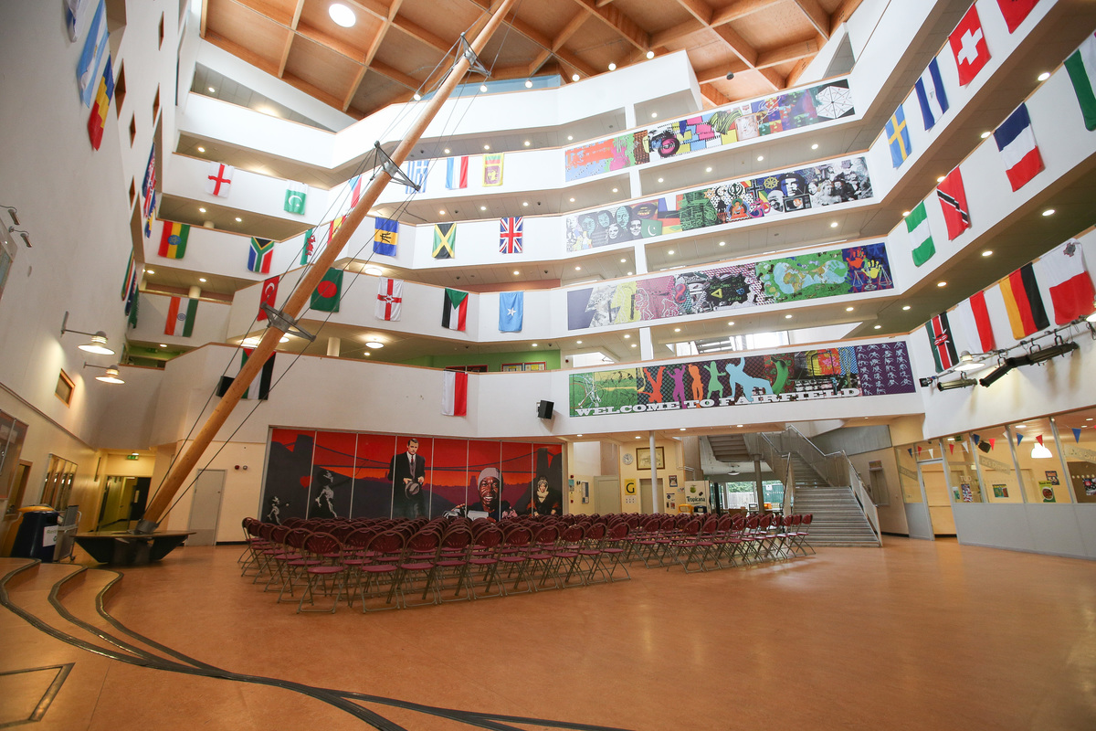 Atrium Hall For Hire In Bristol Schoolhire