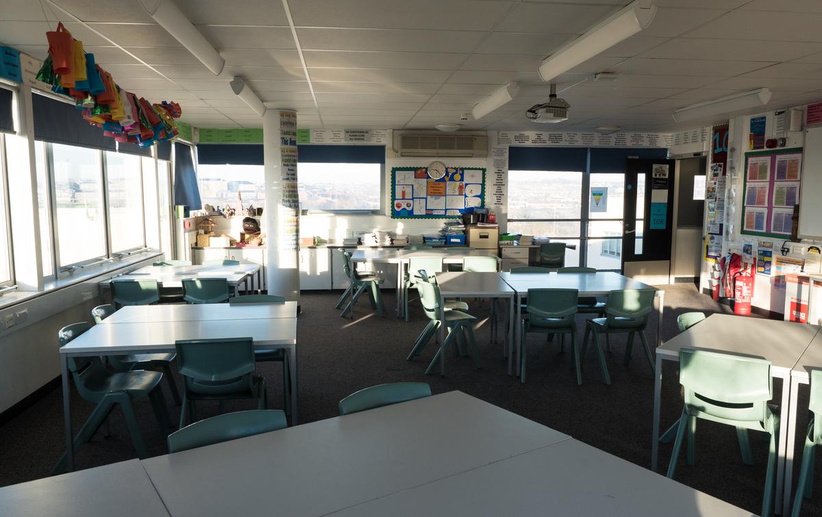 Classrooms - 2nd floor - Fairfield High School - Bristol City of - 2 - SchoolHire