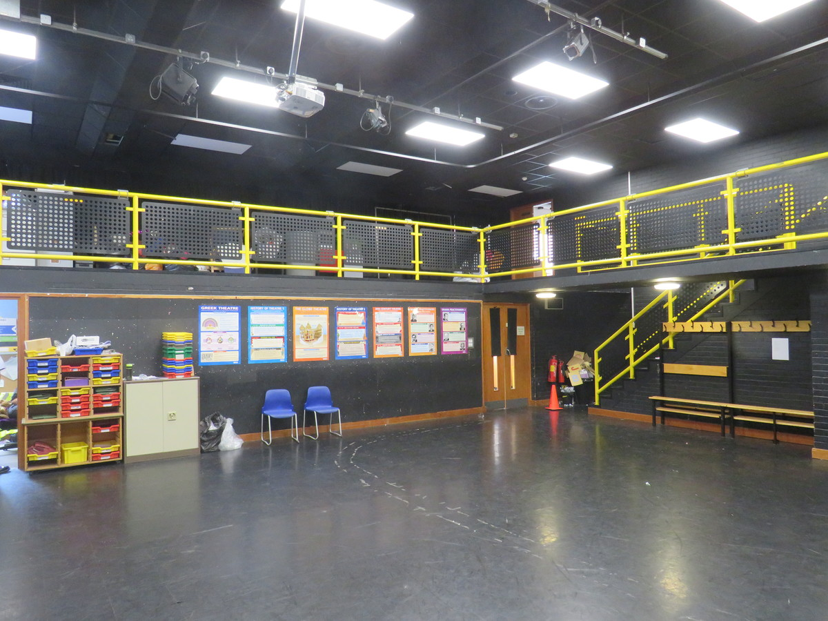 Drama Studio - Roding Valley High School - Essex - 1 - SchoolHire