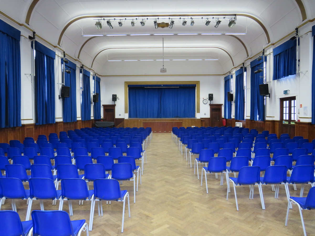 Main Hall At Roding Valley High School For Hire In