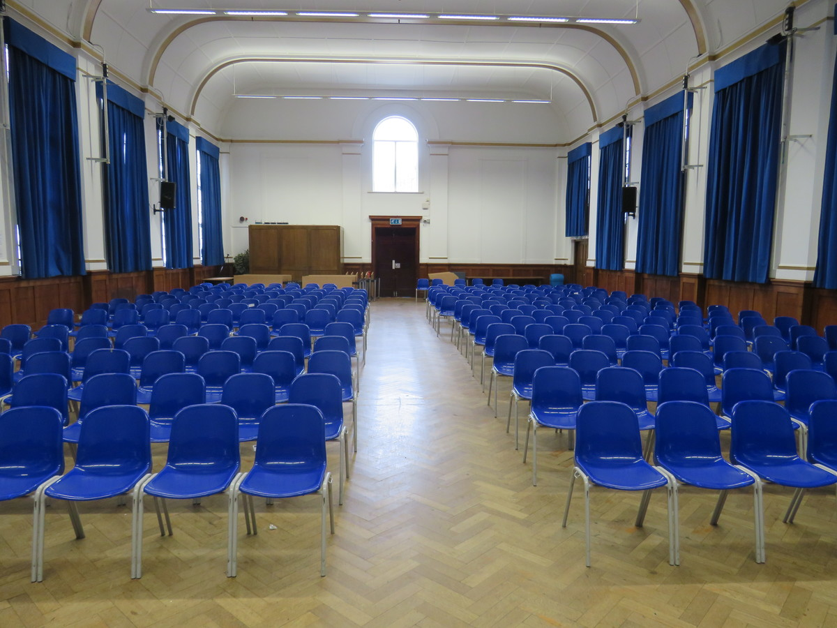 Main Hall - Roding Valley High School - Essex - 2 - SchoolHire