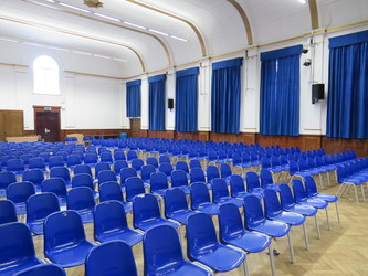 Main Hall - Roding Valley High School - Essex - 3 - SchoolHire