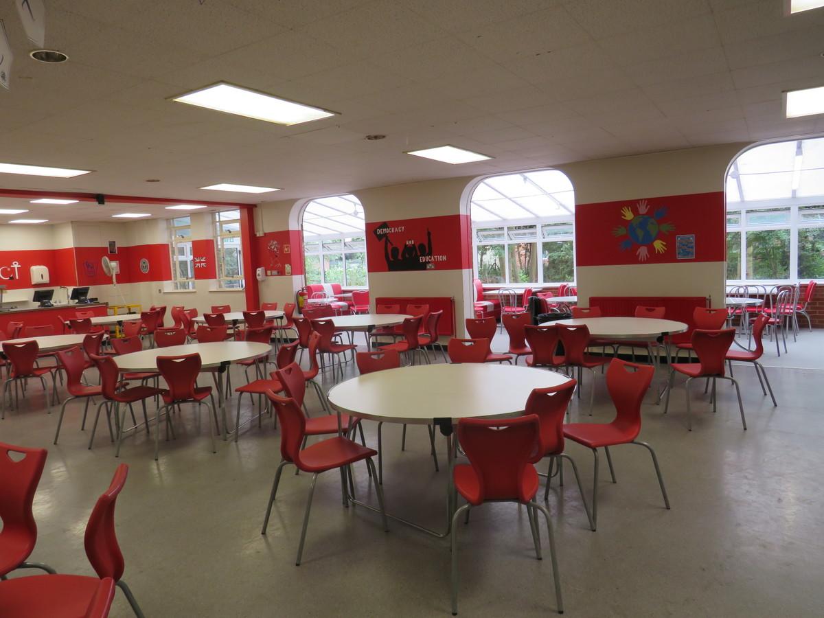 Small Hall / Dining Room - Roding Valley High School - Essex - 1 - SchoolHire