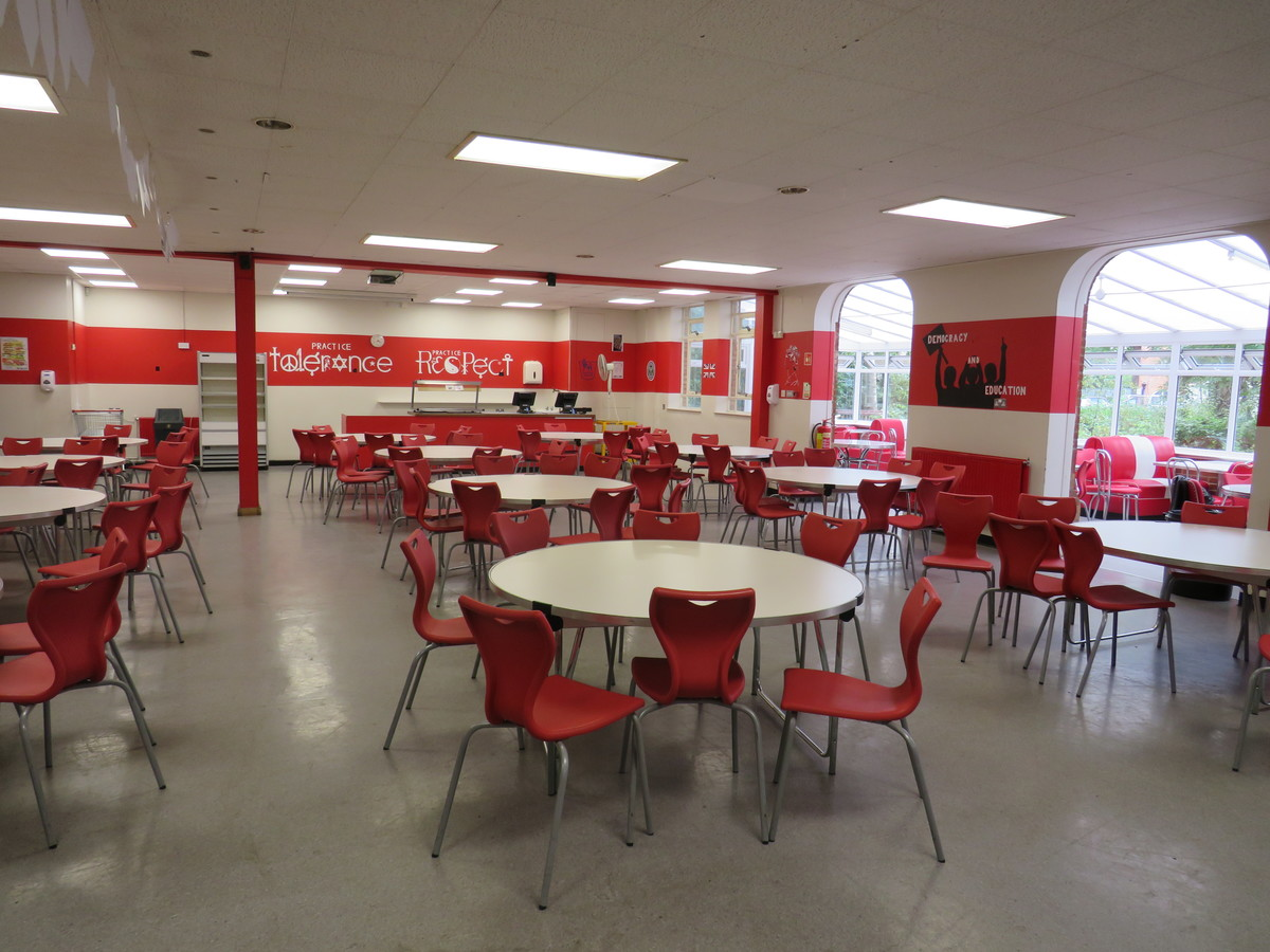 Small Hall / Dining Room - Roding Valley High School - Essex - 2 - SchoolHire