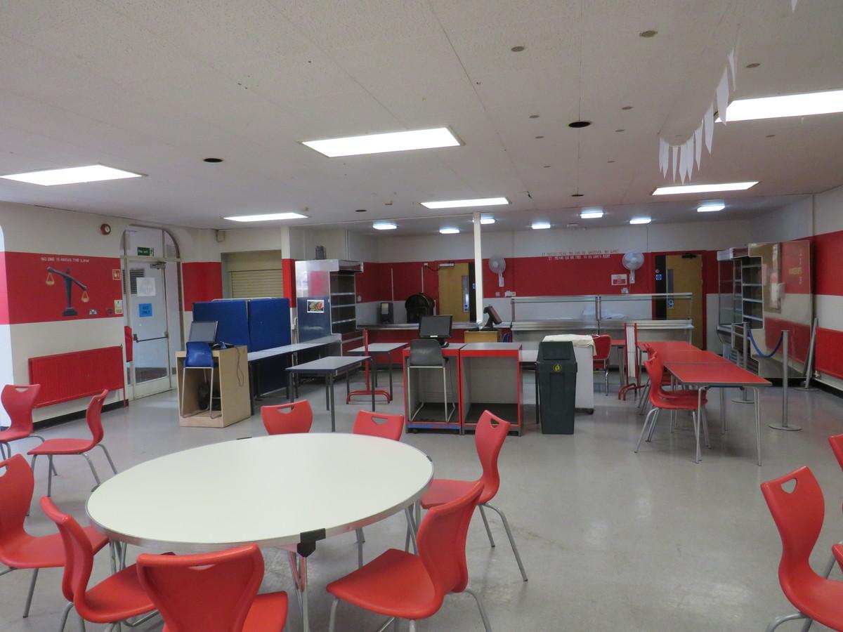 Small Hall / Dining Room - Roding Valley High School - Essex - 3 - SchoolHire