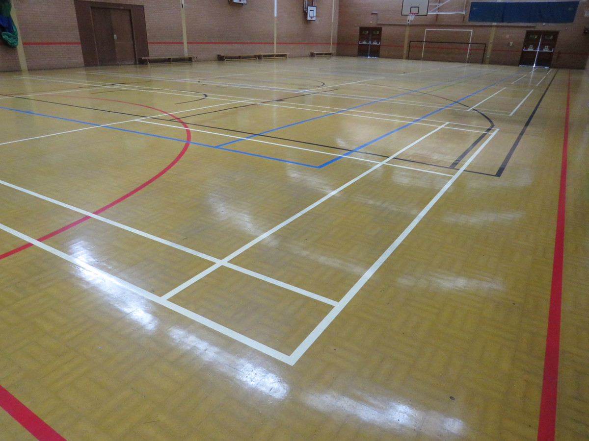 Sports Hall - Roding Valley High School - Essex - 2 - SchoolHire