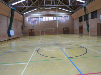 Sports Hall - Roding Valley High School - Essex - 3 - SchoolHire