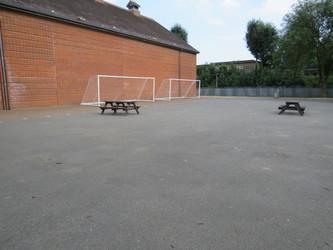 Sports Hall Playground - Roding Valley High School - Essex - 1 - SchoolHire