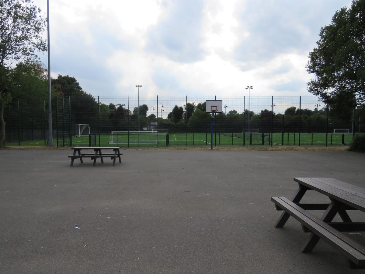 Sports Hall Playground - Roding Valley High School - Essex - 2 - SchoolHire