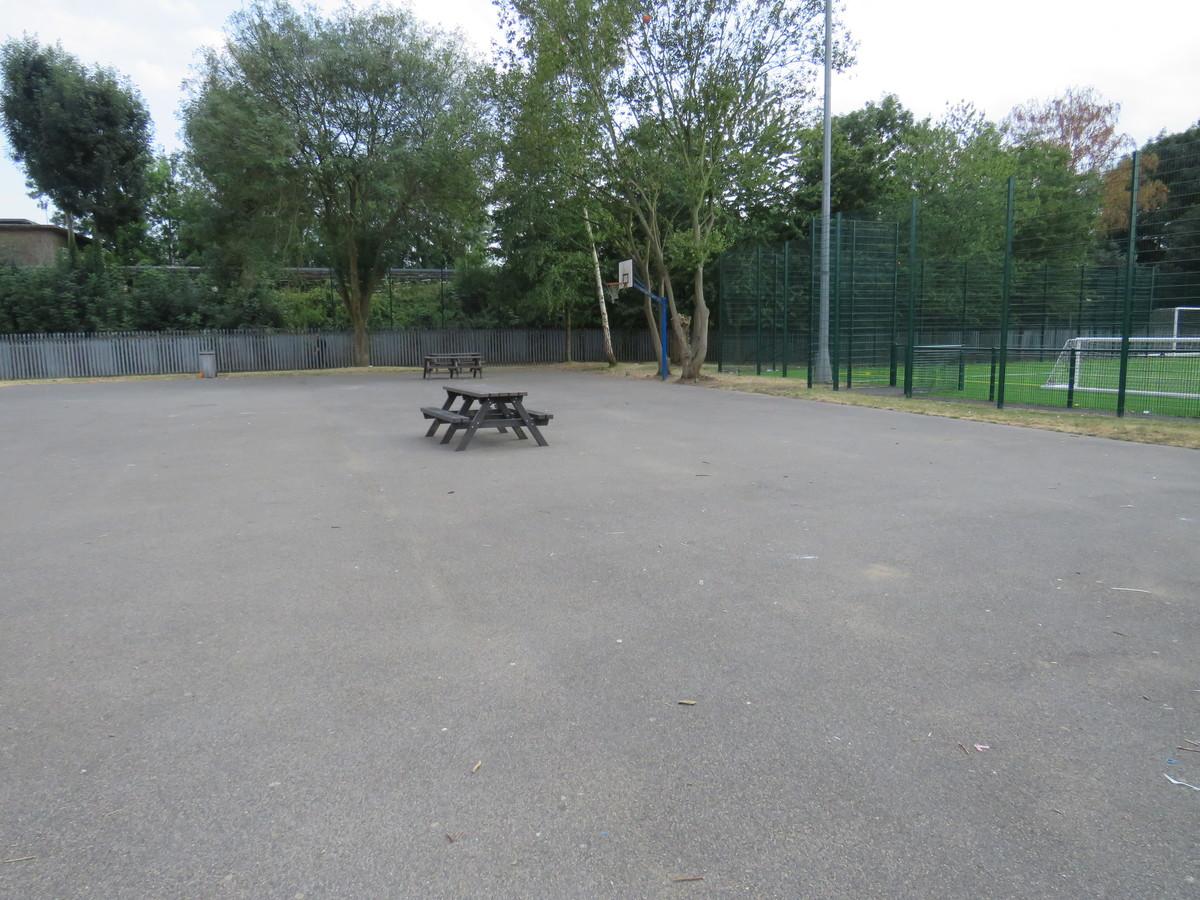 Sports Hall Playground - Roding Valley High School - Essex - 3 - SchoolHire