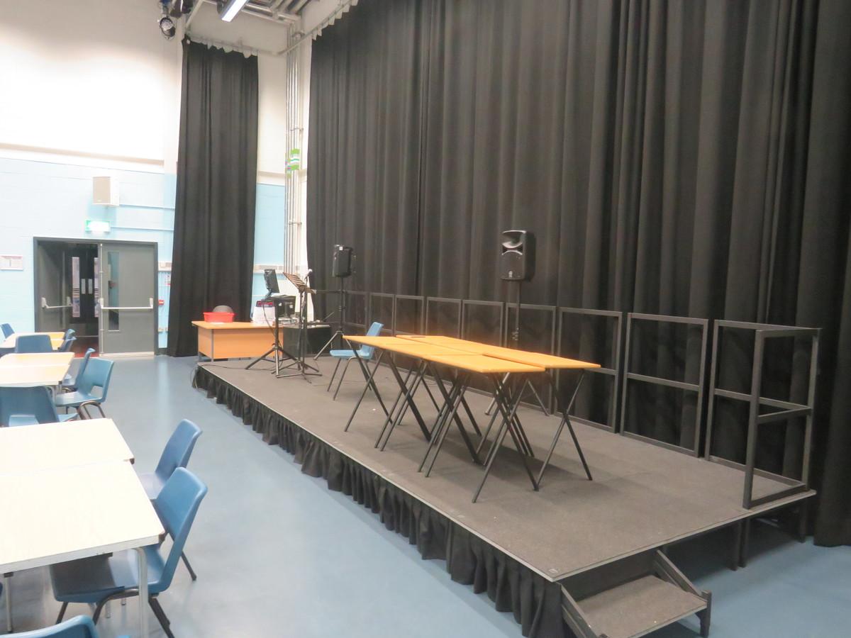 Auditorium - Gladesmore Community School - Haringey - 2 - SchoolHire