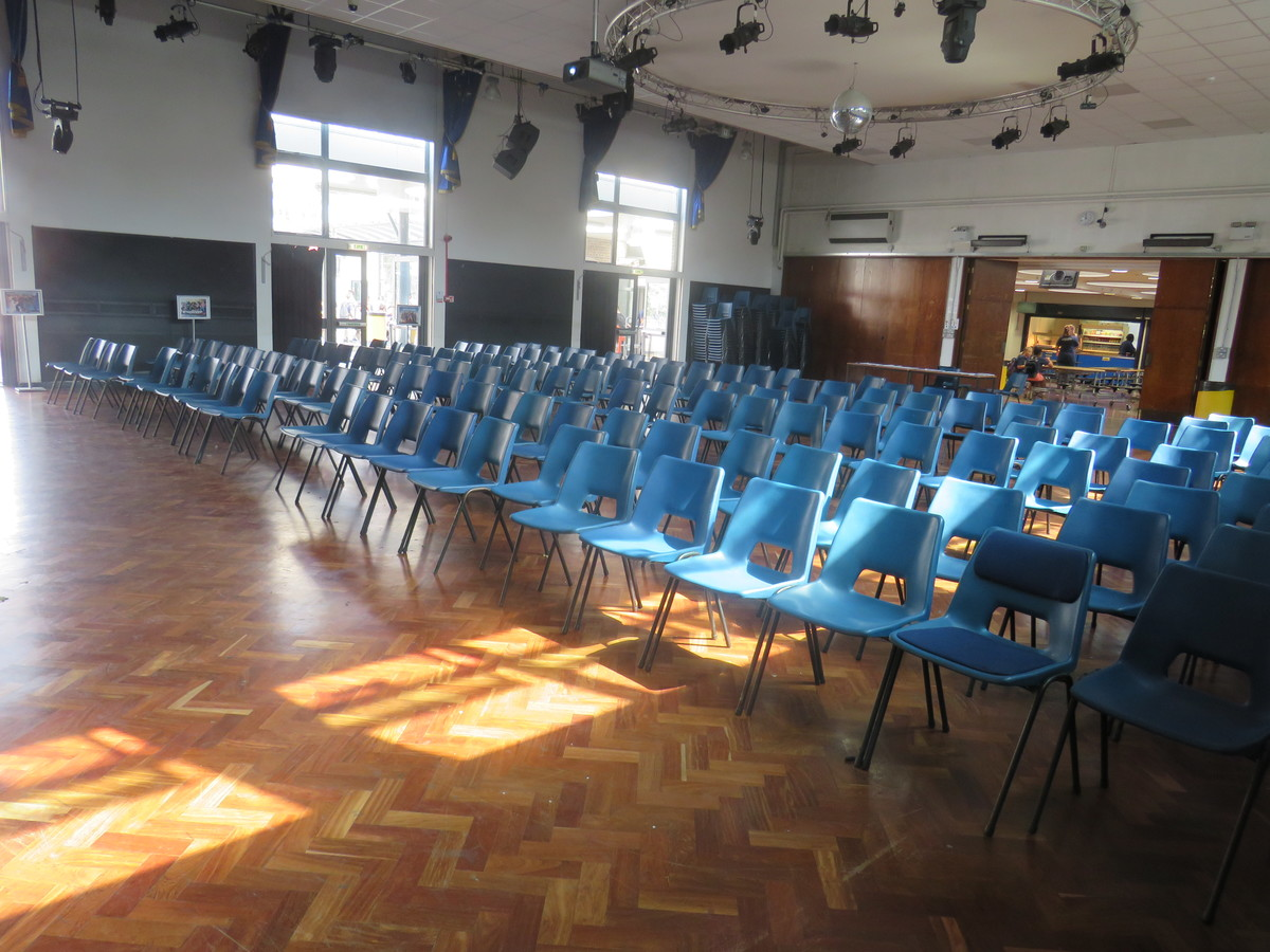 Main Hall - Gladesmore Community School - Haringey - 3 - SchoolHire