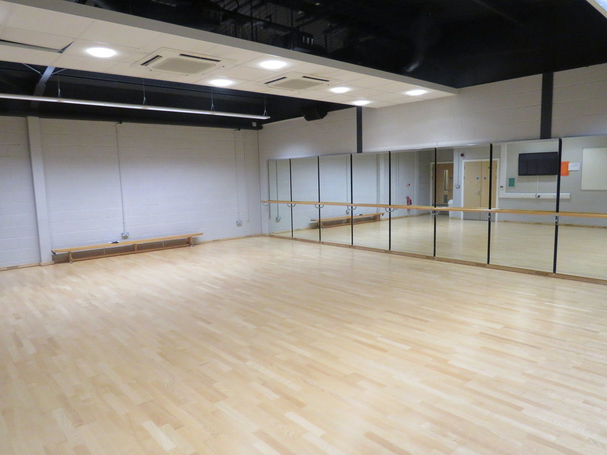Dance Studio - The Mirfield Free Grammar and Mirfield College - Kirklees - 1 - SchoolHire