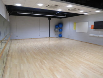 Dance Studio - The Mirfield Free Grammar and Mirfield College - Kirklees - 3 - SchoolHire