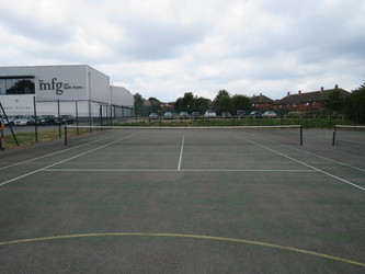 MUGA - Tennis Courts - The Mirfield Free Grammar and Mirfield College - Kirklees - 3 - SchoolHire