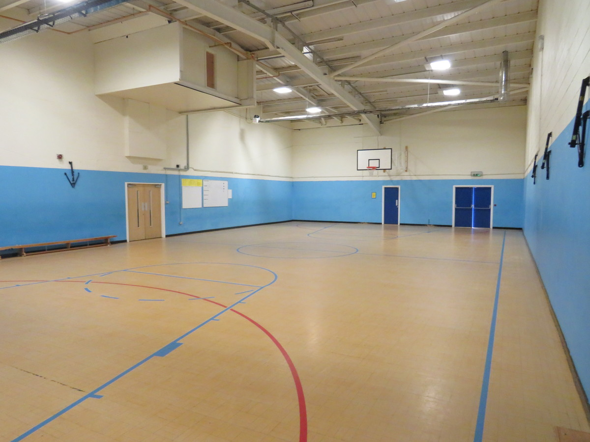 Sports Hall - Small - The Mirfield Free Grammar and Mirfield College - Kirklees - 1 - SchoolHire