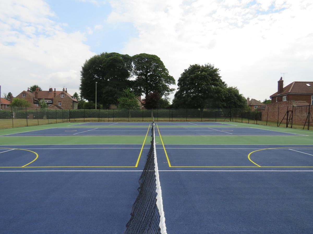 MUGA - Tennis & Netball - Malton Community Sports Centre - North Yorkshire - 2 - SchoolHire